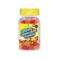 Nutrition Now Rhino Gummy Bear Chewable Vitamins 190 Sour Gummies
