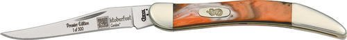 Oktoberfest Picks (Case Cutlery 910096OF Oktoberfest Toothpick Pocket Knife with Stainless Steel Blade, Orange, Black and White Mixed)