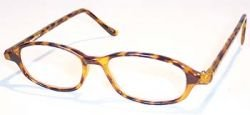 (Plastic Tortoise Half Frame, 2.50 Strength, by American Reading Glasses)