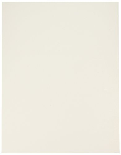 School Smart Poster Board - 11 x 14 inch - Pack of 25 - White