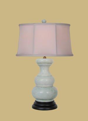 GREEN JADE LAMP