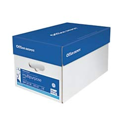 ultipurpose Paper, Letter Size, 96 Brightness, 20 Lb, 500 Sheets Per Ream, Case of 10 Reams ()