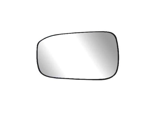 Fit System 33208 Driver Side Heated Replacement Mirror Glass with Backing Plate Accord Rear View Mirror