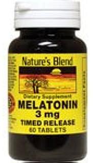 Melatonin Timed Release 3 mg 60 Tabs