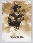 Dee Gordon #/10 (Baseball Card) 2017 Topps Bunt - Splatter Art - Topps Online Exclusive 5 x 7 Gold #SP-DG (Dg Online Shop)
