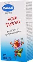 Hyland's - Sore Throat, 100 (Sore Throat Tabs 100 Tablets)