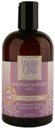 Massage Aromaland & Body Oil (12 oz) Lavande