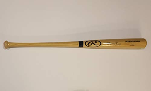 Andruw Jones Autographed Signed Baseball Bat with Inscription