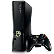 Microsoft Xbox 360 S - 4 GB Matte Black Console