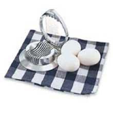 Egg Slicer, Cast Aluminum, Diameter In 4.1/2 -- 12 Per Case (Poacher Vollrath Egg)