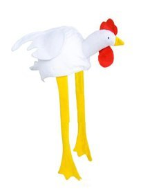 Playo Chicken Rooster Funny Party Hat, Farm Costume Hat (Chicken Hats)