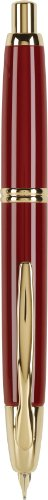 Pilot Vanishing Point Collection Retractable Fountain Pen, Red with Gold Accents, Blue Ink, Fine Nib (60167)