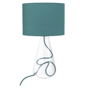 Clear glass base table lamp teal shadeflex 3030te se 3030te clear glass base table lamp teal shadeflex 3030te se 3030te aloadofball Image collections