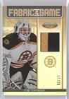 Tim Thomas #17/25 (Hockey Card) 2012-13 Panini Certified - Fabric of the Game - Mirror Gold Jerseys Prime - Thomas Hockey Tim