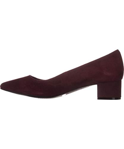 Alfani Womens Daleah Pointed Toe Classic Pumps, Mulberry, Size 8.0
