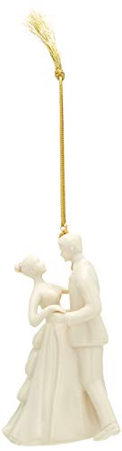 Lenox 2018 Bride and Groom Ornament - Groom Christmas Ornament