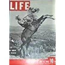 LIFE  Magazine   - July 12, 1943 - Cover: Roy Rogers & Trigger