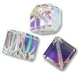 6 Crystal AB Dice Swarovski Crystal Beads 5600 6mm