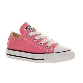 Converse Star Baskets Basses Pour Nourrissons - Rose - Rose,