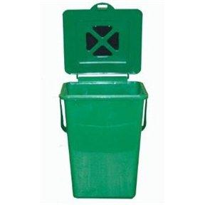 2.4 Gallon Kitchen Composter Compost Waste Collector Bin - Green Garbage Tall Bag Drawstring New CHOOSEandBUY