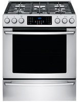 Electrolux - 4.5 Cu. Ft. Self-cleaning Freestanding Gas Conv
