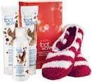 Avon Foot Works Pomegranate Chocolate Collection Gift Set