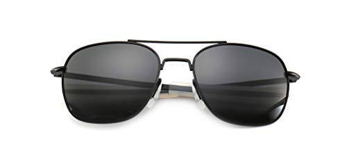 7ab0ea1d0aa SUNGAIT Men s Military Style Polarized Pilot Aviator Sunglasses - Bayonet  Temples - Buy Online in Oman.