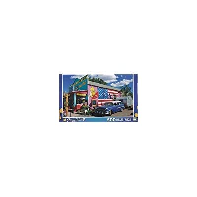 Puzzlebug 500 Piece Puzzle ~ Seligman Sundries Gift Shop on Route 66, Arizona by Puzzlebug: Toys & Games