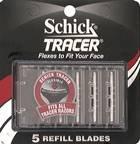 schick tracer razor blades - 5