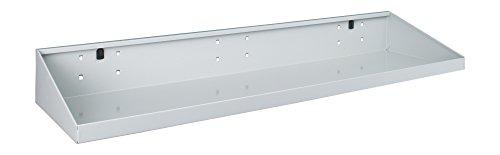 Sloping Shelves - Bott 14014007.16 Toolboard Shelf for Perfo Panels - Sloping Parts Shelf - 36 x 10 in. - Gray
