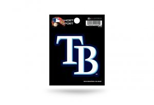 MLB Tampa Bay Rays Short Sport Decal