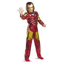 Imm2 Foil Mark 6 Classic Muscle Costume Size: Small - Mark 6 Iron Man Costume