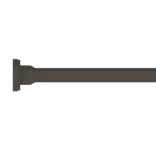 Brasstech 436/10B 3/8-Inch O.D. by 20-Inch Flat Head Rigid Supply Tube, Oil Rubbed Bronze
