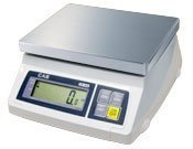 CAS SW-5Z Food Service Scale, Lb/Oz Switchable, 5 x 0.002 lbs, Lb and Oz Fractional Display by CAS