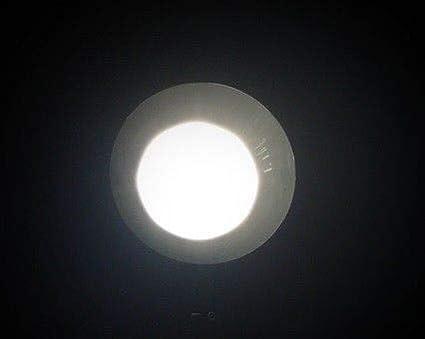12 V 4 St/ück Marvix LED-Einbaustrahler f/ür Wohnwagen 24 V Chrom Wohnmobil oder Boot