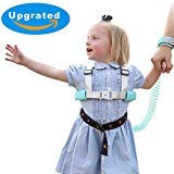 Anti Lost Wrist Link, 2 in 1 Toddler Leash Safety Harness for Kids Walking - Blue