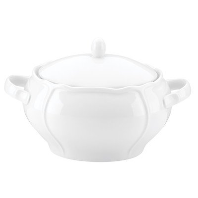 Maria Covered 2.5 qt. Soup Tureen (Porcelain Soup Covered Tureen)