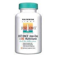 Once Iron Free 120 Tab - Rainbow Light Just Once Iron Free 120 Tab