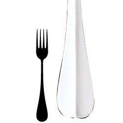 Bon Chef S105 Stainless Steel 18/8 Monroe Regular Dinner Fork, 7-1/2