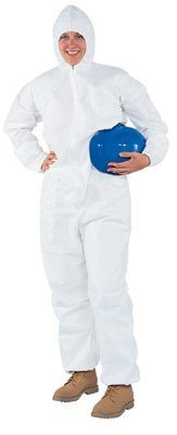 Kimberly-Clark Professional - Kleenguard A30 Breathable Splash & Particle Protection Coveralls Kleenguard A30 3Xl Apprlbreathable: 417-46126 - kleenguard a30 3xl apprlbreathable