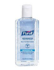 GOJO® 4 Fluid-Ounce Bottle Clear Purell® Citrus Scented Advanced Instant Hand Sanitizer