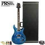 GoDpsMusic JB-PaulsG-KIT-01 Paul Reed Smith USA Electric Guitar with Accessories and PRS Hard Case, Faded Blue Jean