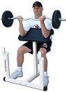 Deltech Fitness Pro Preacher Curl Bench
