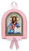 RuPost Icon Argenta Almighty 6393 CR, Baby, Pink, 7.5 x 9.5 cm