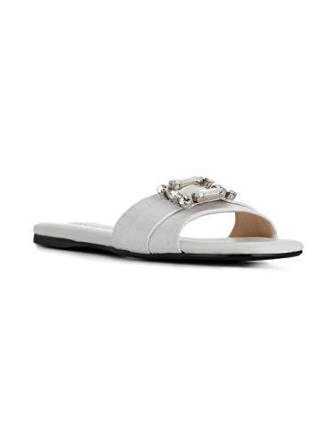 Blanco P38383coccowhite Cuero Zapatos Mujer Anna Baiguera C0wfqtZ