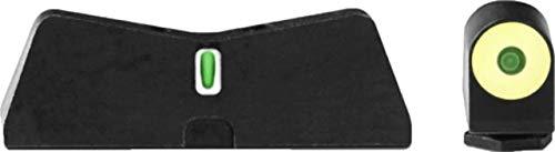XS Sight Systems, DXT2 Big Dot Sights, Glock 17/19/22-24/26/27/31-36/38, Yellow (Sights Dot Big)