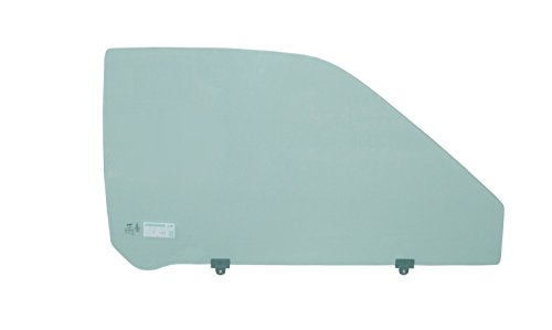 PPR Industries 1086-97RGTY Replacement Right Side Door Glass For 1986-97 Nissan 850 Pickup - 97 Nissan King Cab