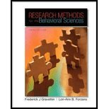 Research Methods for the Behavioral Sciences by Gravetter, Frederick J, Forzano, Lori-Ann B. [Wadsworth Publishing,2008] [Hardcover] 3RD EDITION