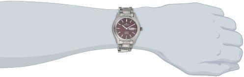 Sartego Men s SNT116 Barcelona Titanium Watch with Link Bracelet
