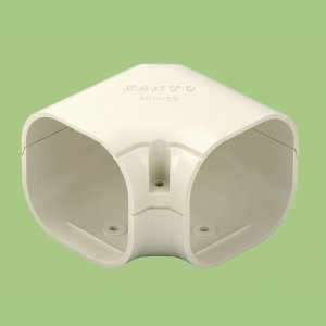 10個セット 配管化粧カバー ミニコーナー(平面用) 77タイプ ホワイト SKC-75-W_set